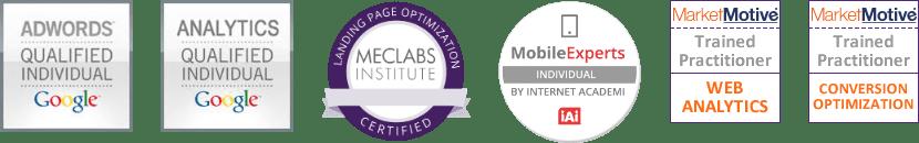 Certificaciones Marketing Digital por Raúl Abad