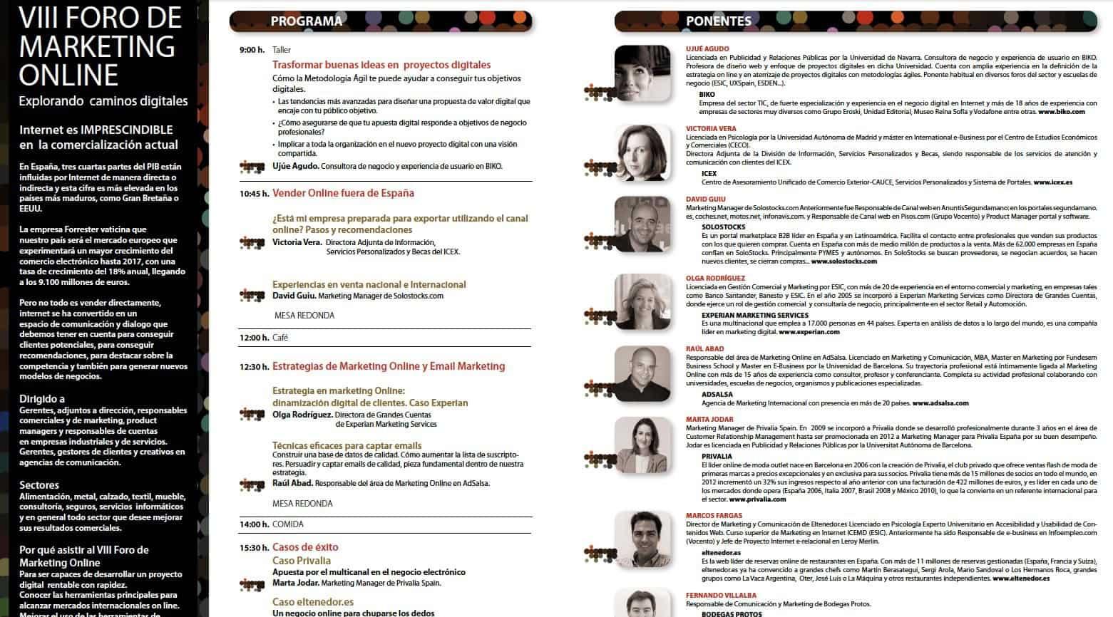 Foro de Marketing en Club de Marketing de la Rioja